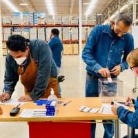 CTM-SLP realizó consulta a la revisión del contrato colectivo de trabajo de la empresa Onnera México