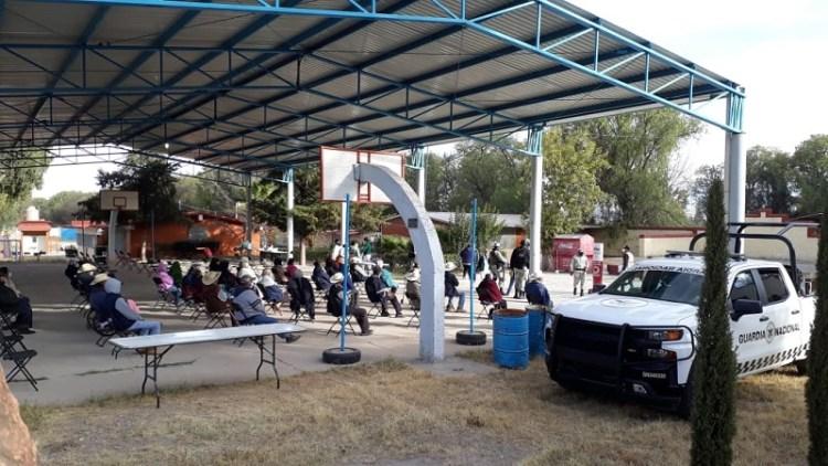 Inició vacunación de adultos mayores en Mexquitic de Carmona