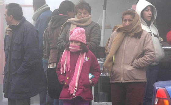 Alertan en SLP por Severo Descenso de Temperatura y Lluvias en Próximas Horas