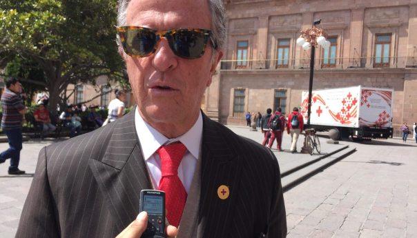La Cruz Roja nacional destaca la participación del Gobierno Estatal al arranque de su colecta anual