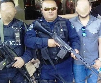"""Comando Armado Acribilla a Director de Inteligencia de la Policía Estatal en plena Avenida """"Ricardo Gallardo"""""""