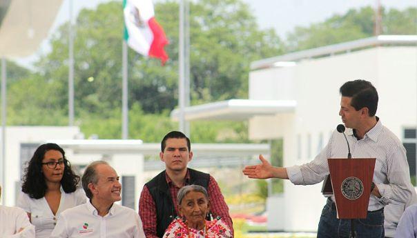 Peña Nieto y JM Carreras Inauguran Autopista Valles- Tamuín