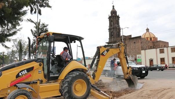 Ayuntamiento da Continuidad a obras Rezagadas