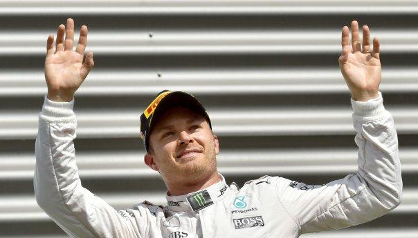 Nico Rosberg gana el Grand Prix de Bélgica, Checo finalizó en 5to.
