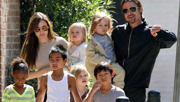 ¡Brad Pitt dispuesto a luchar por la custodia de sus hijos!