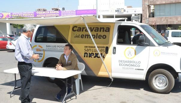 """La """"caravana del empleo"""" recibe más de milsolicitudes semanales"""