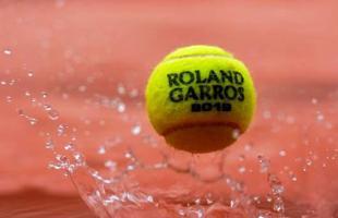Jornada de Roland Garros suspendida por lluvias