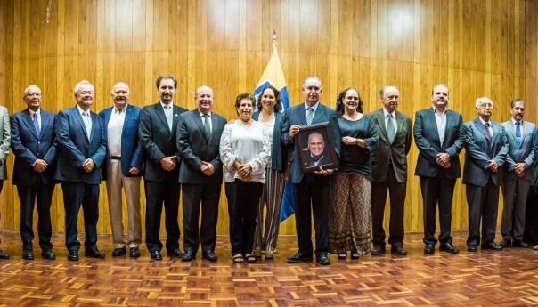 UASLP rinde homenaje póstumo al Ing. Rodolfo Treviño Alcántara