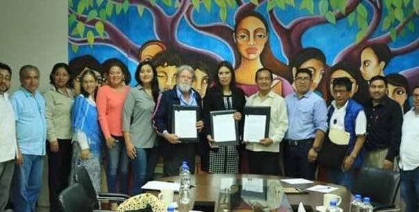 INALI y UNICH firman convenio de colaboración para fortalecer lenguas indígenas