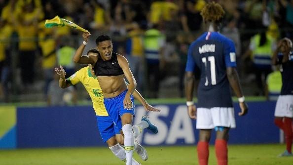 Brasil va contra México en la final del mundial sub 17