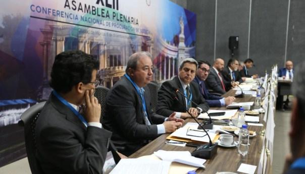 FGE SLP participa en la conferencia nacional de procuración de justicia