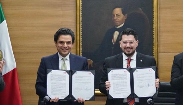 Actualizan IMSS e INFONAVIT convenio de colaboración para evitar evasión fiscal y actos ilegales contra la seguridad social