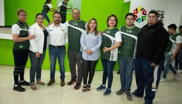 Administración municipal de Soledad de Graciano Sánchez reconoce a los atletas que participarán en los juegos regionales CONADE 2020, etapa regional y estatal