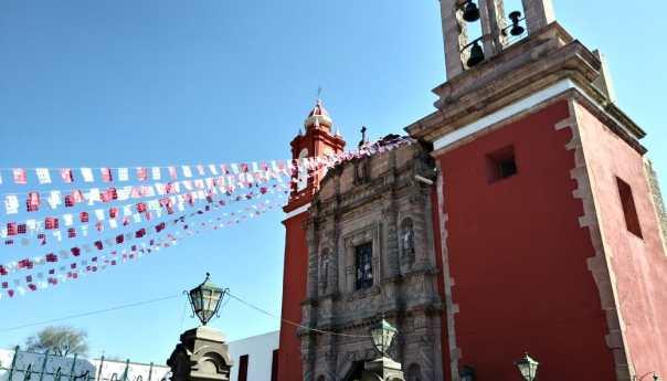 Recorrido por iglesia de San Sebastián
