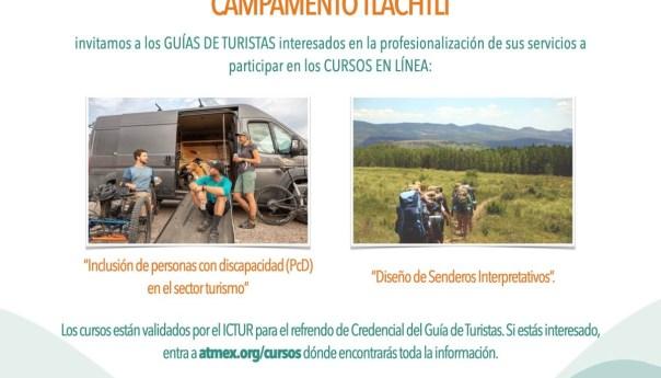 SECTUR invita a guías de turistas a recibir curso en línea para refrendo de credenciales