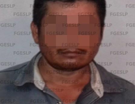 En Tamuín fiscalía capturó a hombre acusado de agredir sexualmente a su sobrina