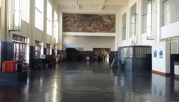 Muralismo en México, exposición virtual del Museo del Ferrocarril