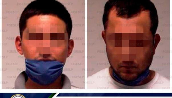 FGE detiene a dos hombres por privación ilegal de la libertad y lesiones calificadas