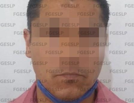 Detiene fiscalía a hombre por presunta violación reiterada y abuso sexual en SLP