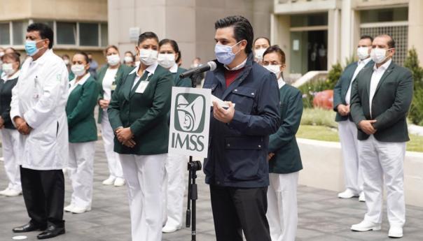 IMSS, piedra angular en la respuesta médica frente al COVID-19
