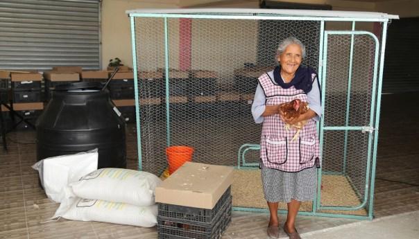 El 80% de las granjas avícolas entregadas por DIF estatal han beneficiado a mujeres