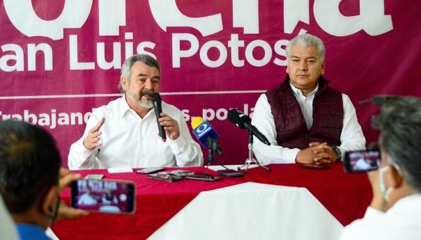 Morena SLP hace el llamado a dependencias a plantear presupuestos realistas y austeros