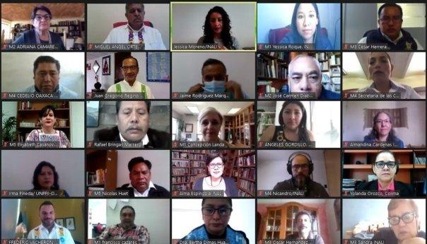 Inicia la Primera Reunión Nacional de Planificación Lingüística, organizada por la Secretaría de Cultura