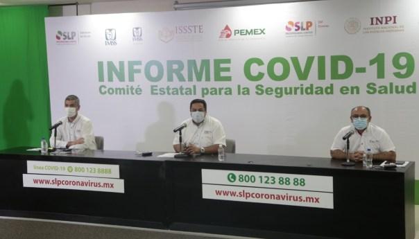 Día mundial de la obesidad, morbilidad presente en uno de cada 4 decesos por covid-19 en SLP: SS