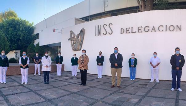 Misión cumplida en operación Chapultepec: retorna personal médico y de enfermería a San Luis Potosí