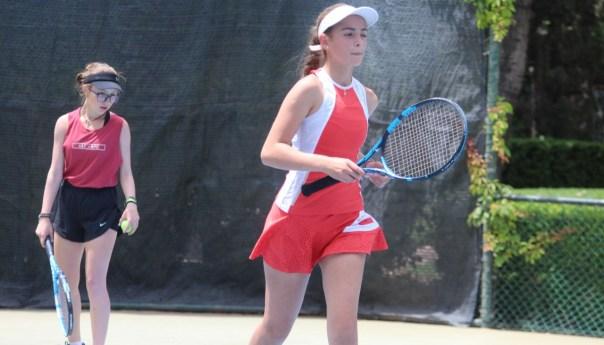Santiago valle y alexia zárate califican a semifinales en el nacional de tenis