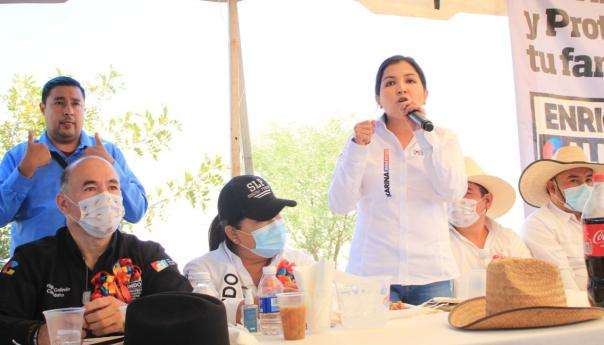 Karina Benavides arranca campaña en el vi distrito federal por la coalición va por México