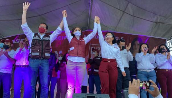 Con Elizabeth Torres cambiaremos el rumbo de Soledad de Graciano Sánchez: Dra. Mónica Rangel
