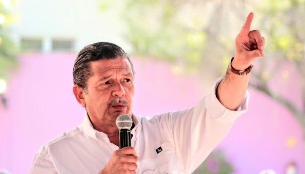 Octavio Pedroza presentará su declaración 5 de 5