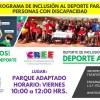 Deporte adaptado, ejemplo de integración social: DIF ESTATAL