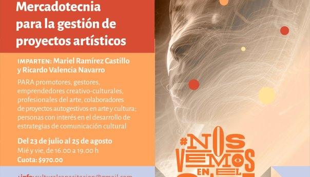 Taller de Mercadotecnia para la gestión de proyectos artísticos