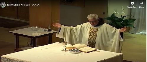 Fr. Vince Celebrates Mass