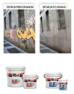 Ochranný systém proti grafitom