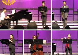 Conservatory students perform at Rotary Youth Instrumental Music Contest