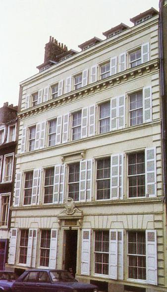 Nº37: Frente de la casa que habitó San Martín en Boulogne-sur-Mer. Francia (actualmente: Museo Sanmartiniano).