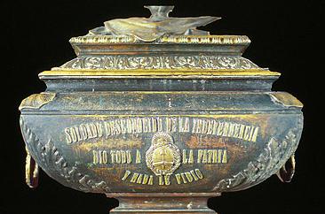 Nº39: Urna con los restos del soldado desconocido. Catedral Metropolitana. Bs.As.