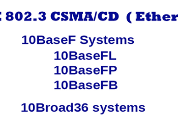 10BaseF Ethernet