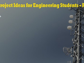 GSM Project Ideas for Engineering Students – Part 01