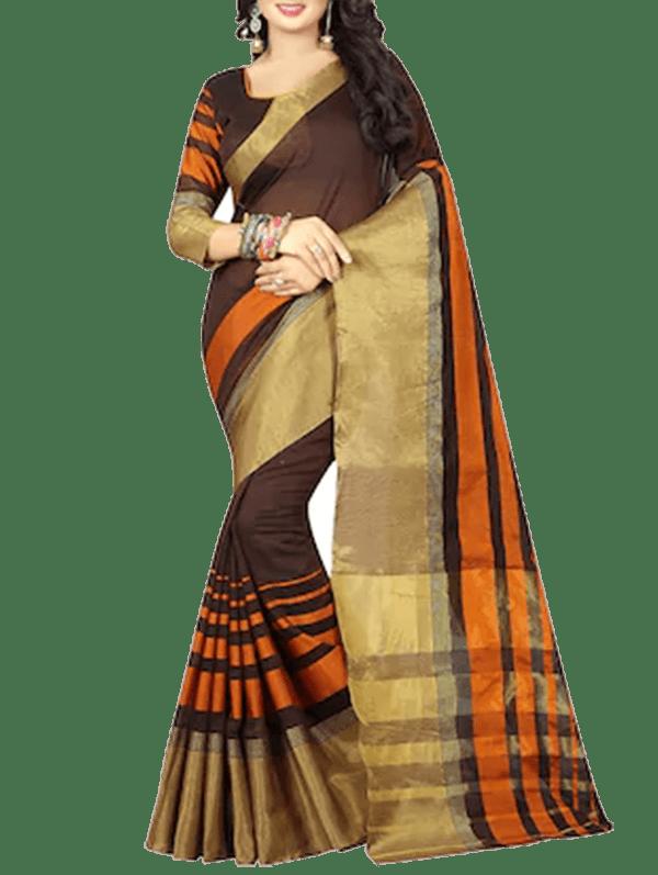 Kanjivaram Saree With Blouse