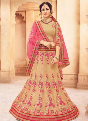 Fancy Net Designer Wedding Lehenga Choli