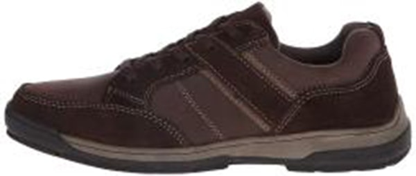 Nunn Bush Mens Layton sport ox Leather Low Top Lace Up Fashion Sneakers