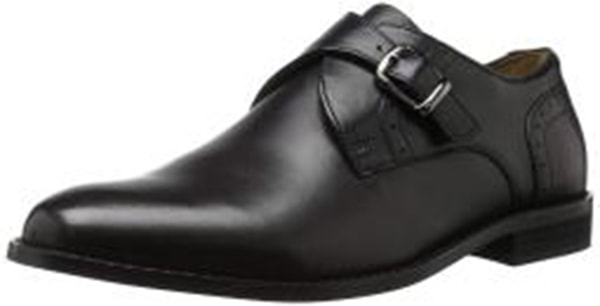 Nunn Bush Men's Sabre Monk Strap Slip-On Loafer