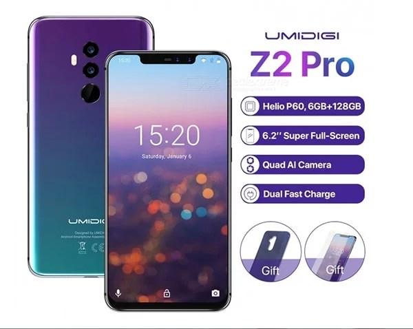 UMIDIGI Z2 Pro. 6.2 Notch MTK P60