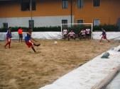 Marco Faroppa, miglior portiere del torneo, in azione