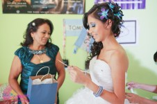 special gift to the quinceanera from grandmother