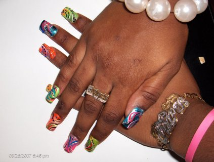 How To Put Nail Art Best Easy